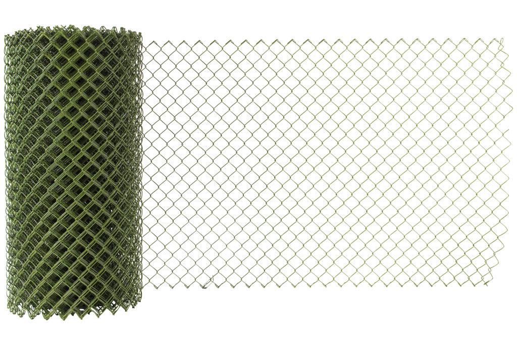 Flätverksstängsel Olivgrönt